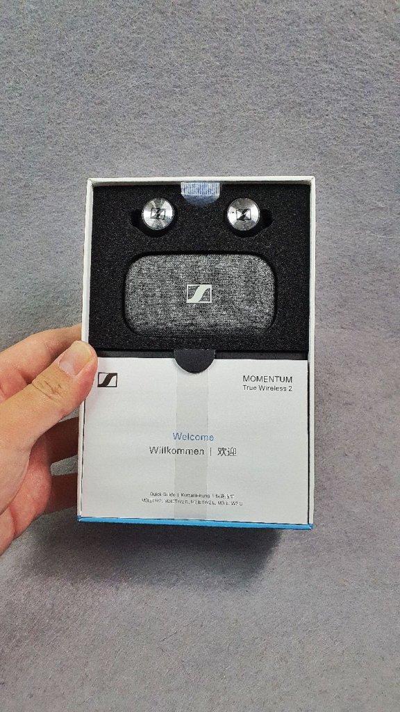 Sennheiser Momentum True Wireless 2 box