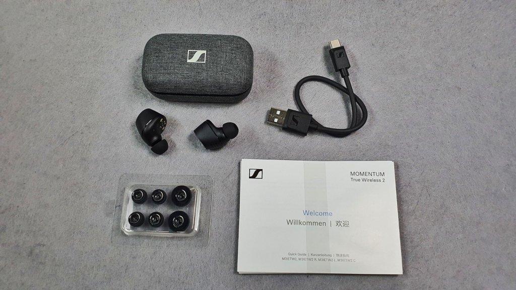 Sennheiser Momentum True Wireless 2 box contents