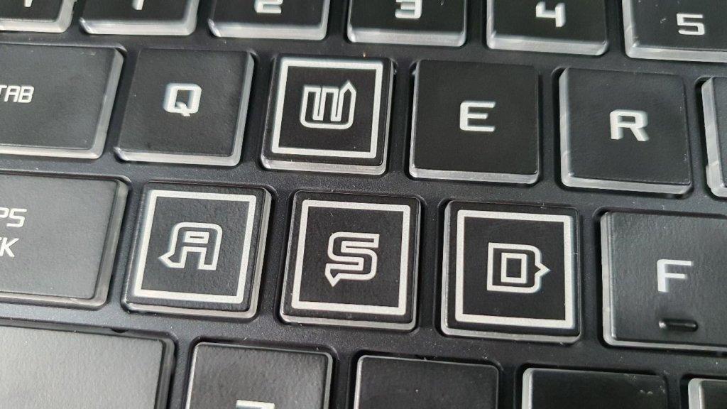 Illegear Rogue Ryzen keyboard