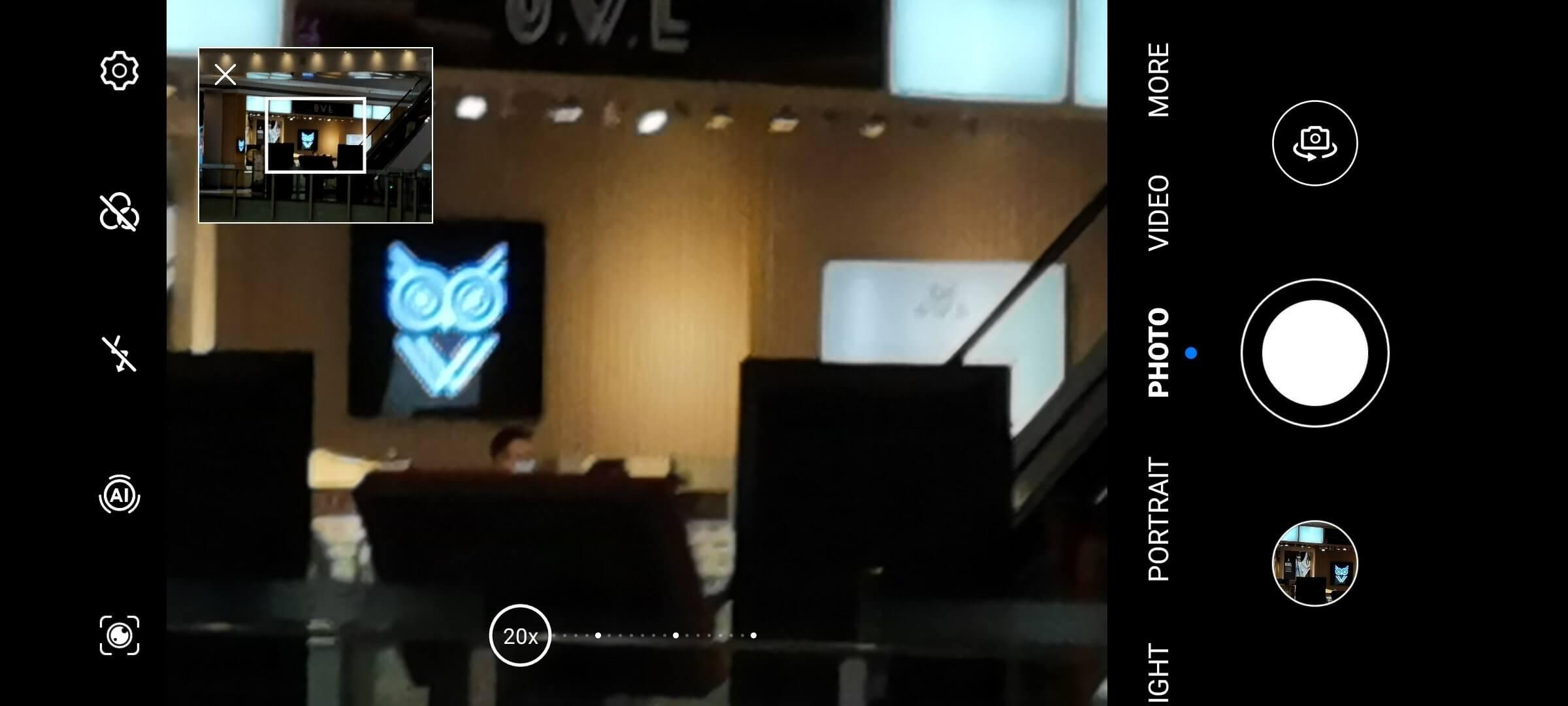 Huawei camera EMUI pro mode
