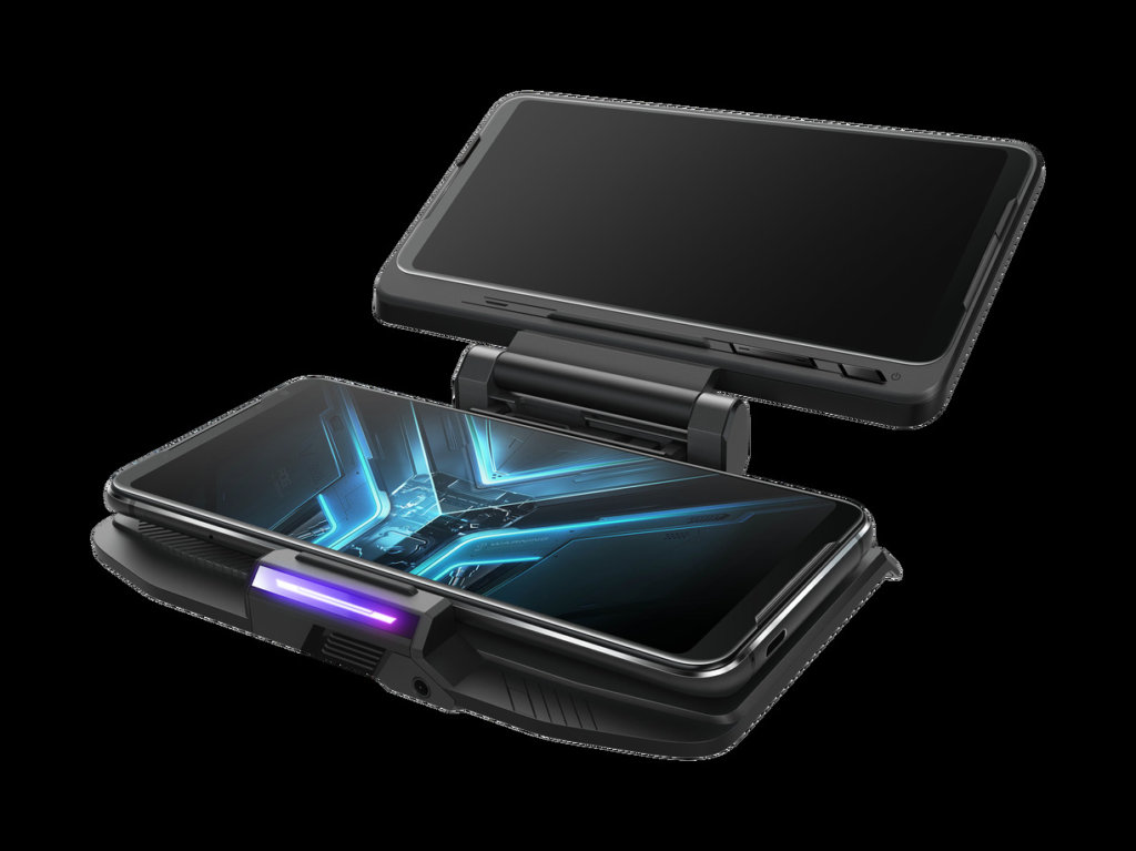 ASUS ROG Phone 3 Price and Availability  Like its predecessors, the ASUS ROG Phone 3 and ROG Phone 3 Strix Edition will come with a bevy of accessories to augment it at launch. Both variants are the same size so they're interchangeable as the only differences are primarily storage and RAM for both variants.   By default, the ROG Phone 3 and ROG Phone 3 Strix Edition will ship with the ROG Aero Case casing that protects it from dings and dents along with a free AeroActive Cooler 3 that has a built-in cooling fan to give it an extra bit of cooling power during intensive gaming sessions.   This time around, they're issuing the Aero case in several different colours versus the standard plain black with a translucent peach finish as one possible colour choice. ROG is also issuing a Kunai gamepad 3 that gives it dimensions akin to a Nintendo Switch and access to D-pads and a gamepad. Alternatively, you can prop the ROG Phone 3 up and just use the Kunai 3 Gamepad on its own like a controller. The phone will also have a TwinView Dock 3 that has a secondary display to give it functionality akin to a Nintendo DS.  At its global announcement, ASUS Malaysia has confirmed that the ROG Phone 3 and the ROG Phone 3 Strix Edition will launch in Malaysia with availability sometime in mid-September with prices similar to when the ROG Phone 2 and ROG Phone 2 Strike launched last year.  At launch in 2019, the ROG Phone 2 Strix edition with 8GB RAM and 128GB storage retailed for RM2,499 and which should be analogous to the ROG Phone Strix Edition with 8GB RAM and 256GB of storage.  The ROG Phone 2 with 12GB RAM and 512GB storage retailed for RM3,499 so the ROG Phone 3 should be very close to this price tag. There will also be an ROG Phone 3 with 16GB RAM and 512GB storage though there's no direct analogue to its predecessors as the priciest version of the ROG Phone 2 that corresponds to it cost RM4,499 and had 12GB RAM with 1TB storage. If we're on the money, this premium version of the ROG Phone 3 should be priced around this region. To sum it up - the following three ROG phone variants are confirmed for Malaysia - all of which have 5G modems:  -ROG Phone Strix 3 8GB RAM/256GB storage -ROG Phone 3 12GB RAM/ 512GB storage -ROG Phone 3 16GB RAM/512GB storage