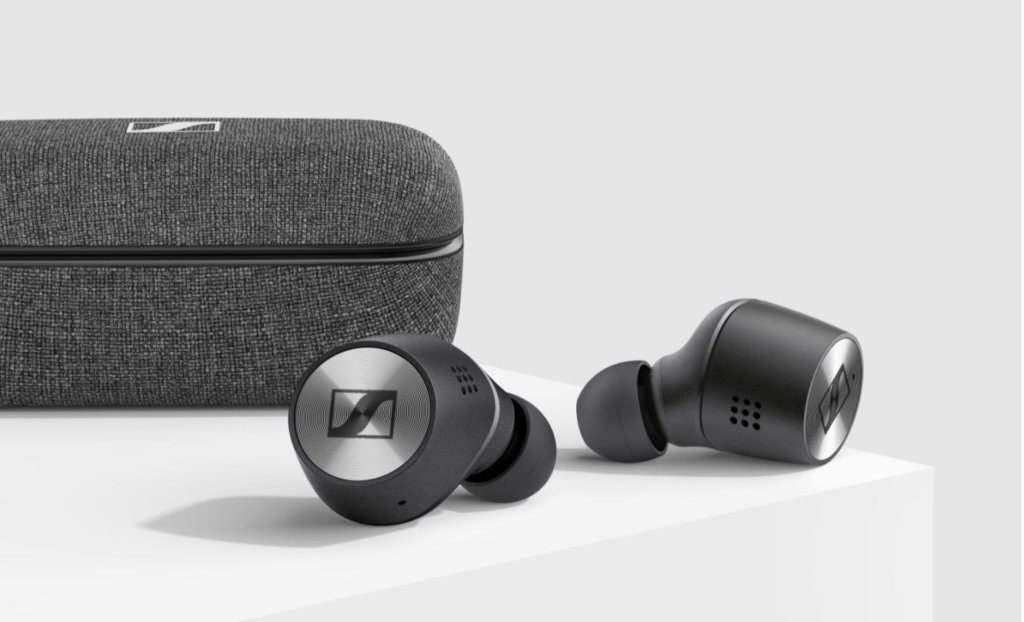 Sennheiser momentum true wireless side image