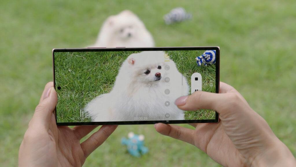 Galaxy Note20 Ultra zoom