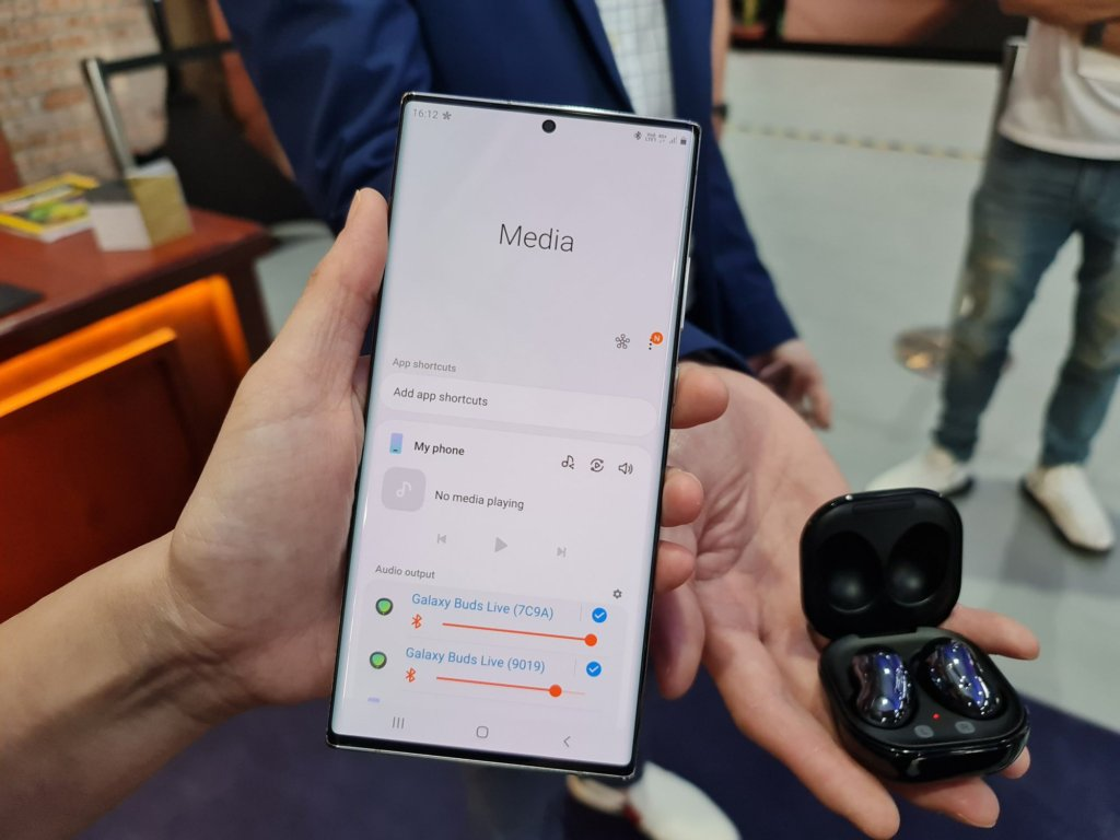 Galaxy Note20 series and Galaxy Buds Live