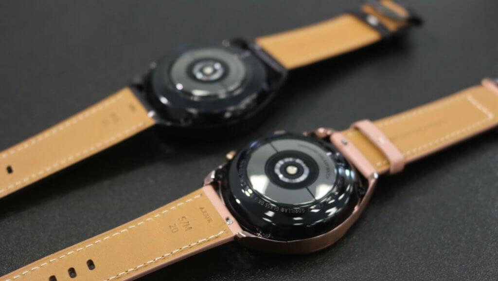 Galaxy Watch3 underside