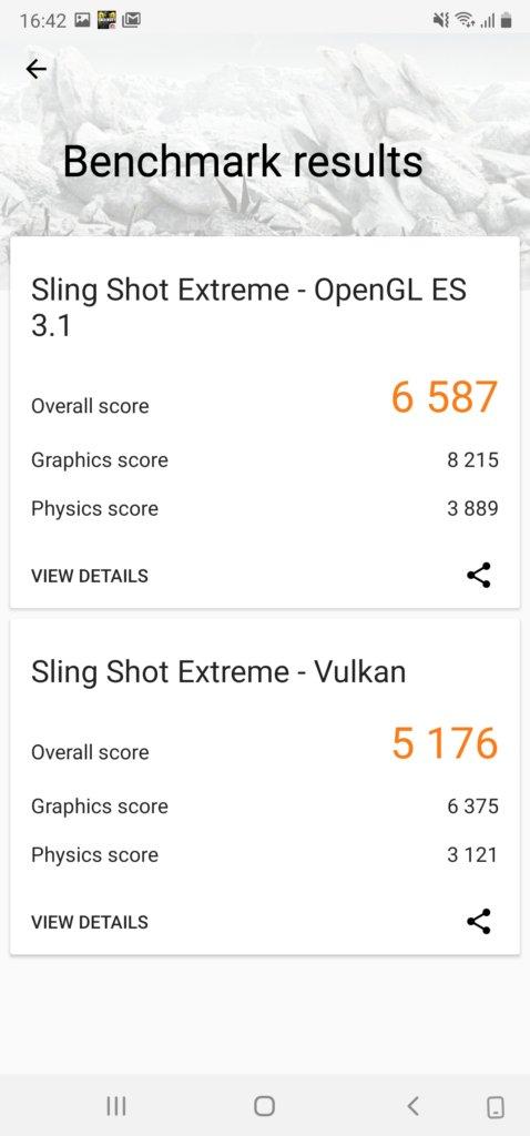 Samsung Galaxy Note20 Ultra 5G 3dmark