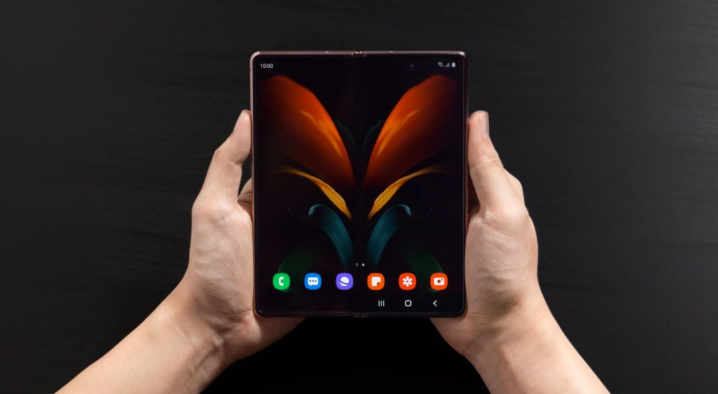 Samsung Galaxy Z Fold2 hero feature shot