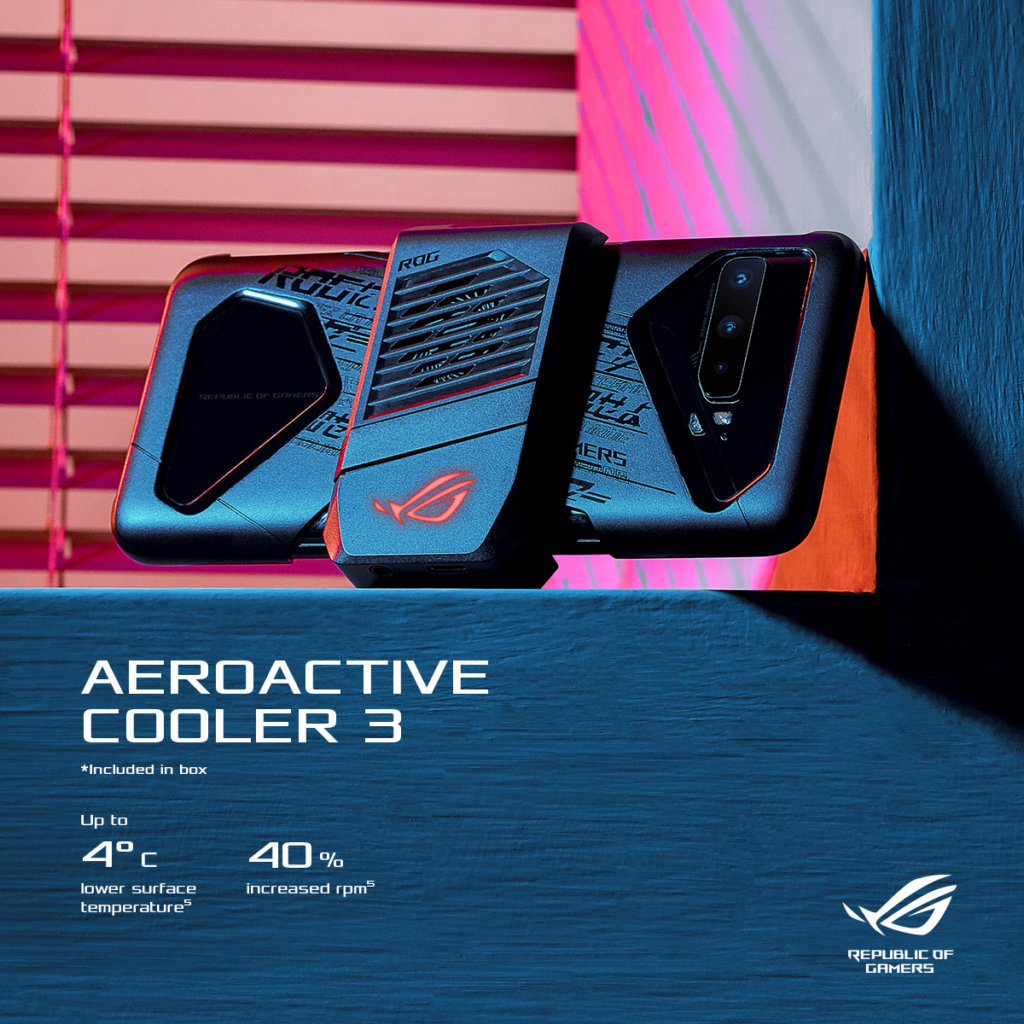 ROG Phone 3 aeroactive cooler