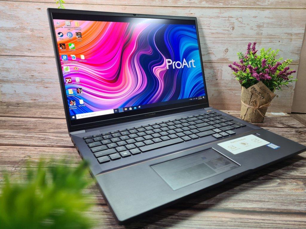 ProArt StudioBook Pro X W730G corner hero DCI P3