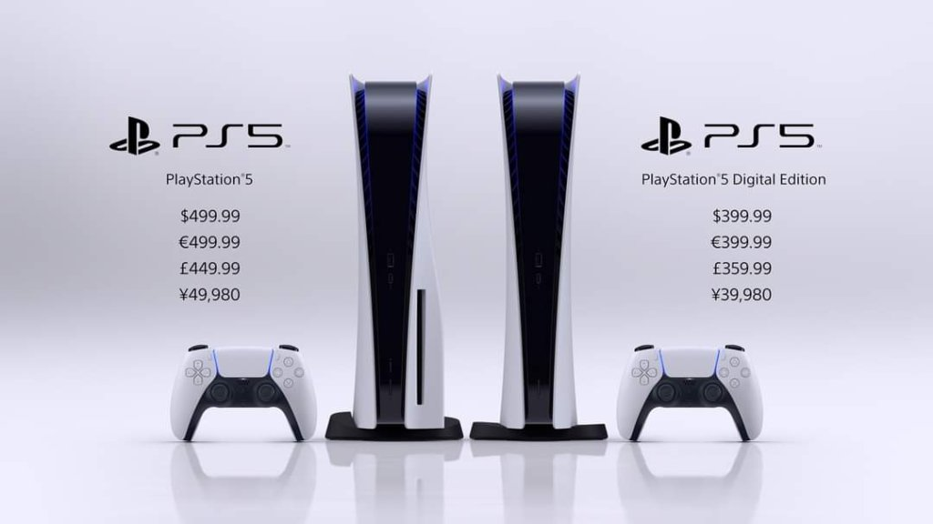 sony playstation 5 price