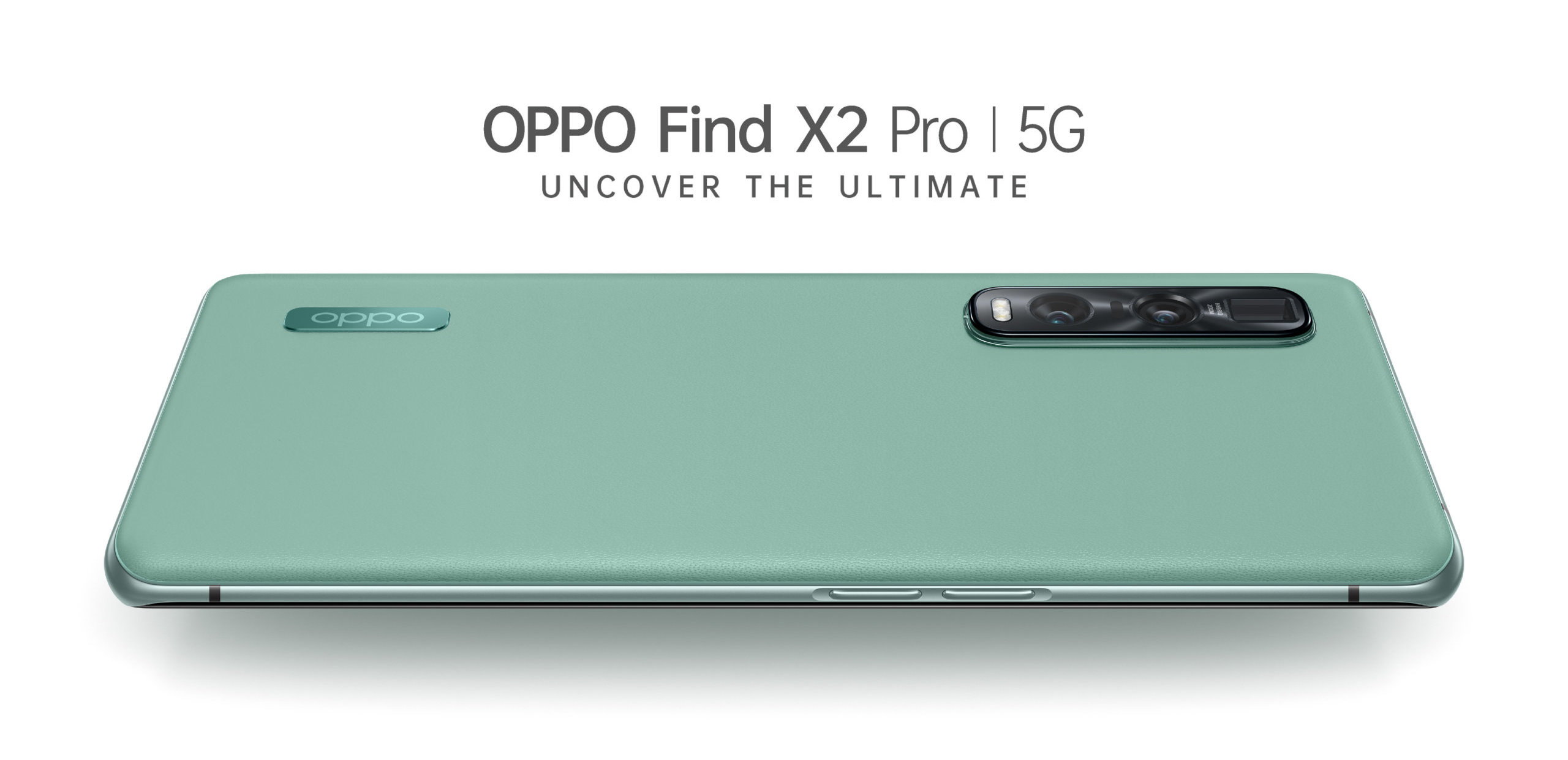 OPPO Find X2 Pro Green Vegan Leather
