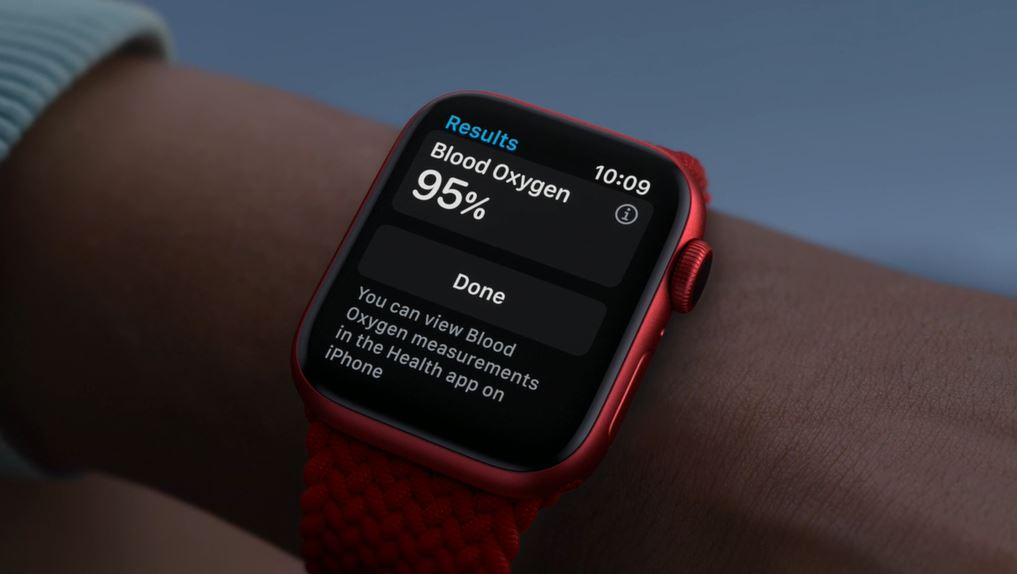Apple Watch series 6 blood oxygen