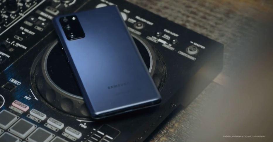 Samsung Galaxy S20 FE 5G rear