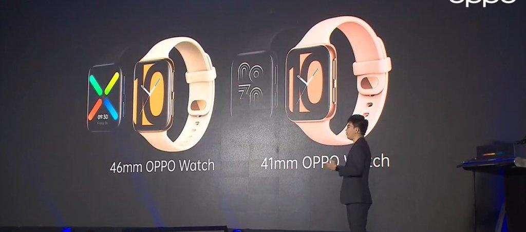 oppo watch angled presentation