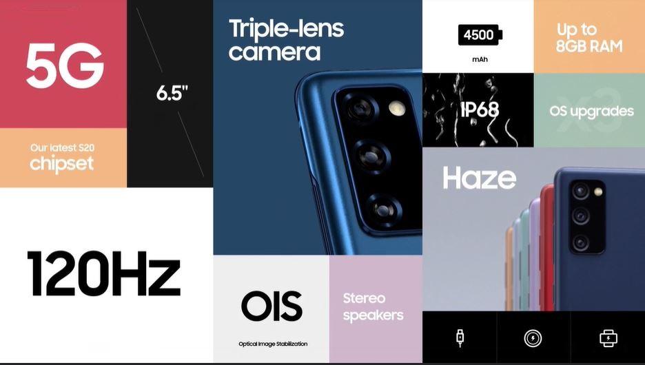 Samsung Galaxy S20 FE 5G recap