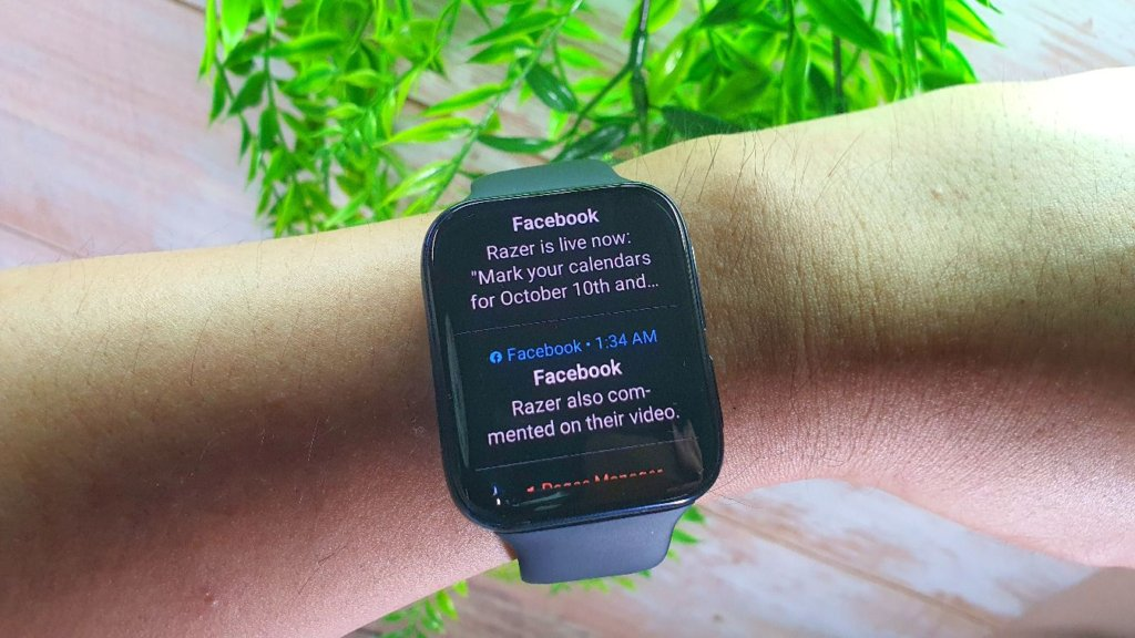 oppo watch review notifications