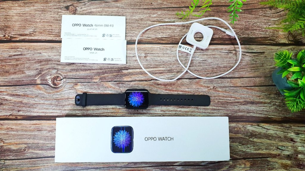 OPPO Watch box contents