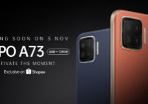 Coming Soon OPPO A73